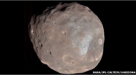 Phobos (Nasa/JPL-Caltech/University of Arizona)