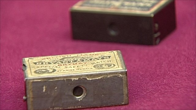 Matchbox cameras developed by the US and MI6