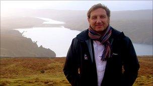 Jim Brown on Shetland