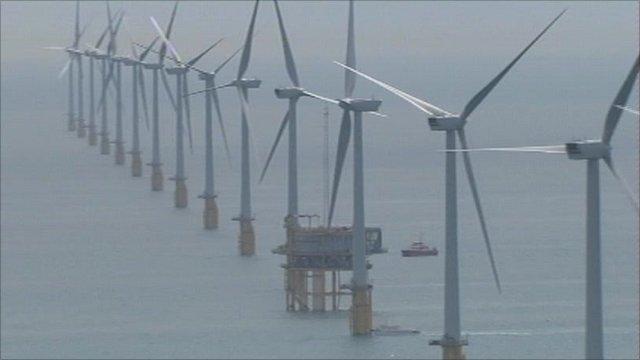 Wind farm off Kent coast