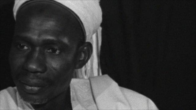 Prime Minister Tafawa Balewa in 1960