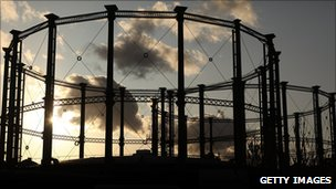 Gasometers in South London