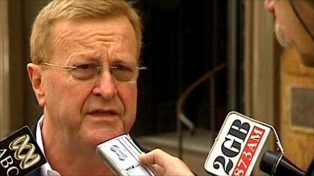 Australia's Olympic Committee president John Coates