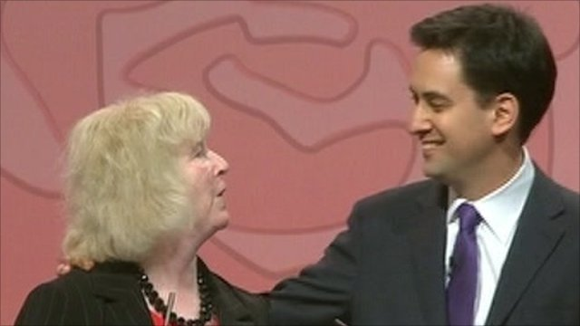Ed Miliband being elected leader