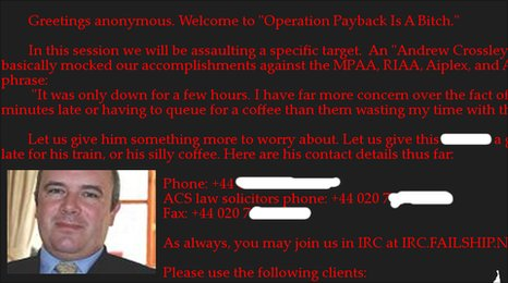 4chan attack poster