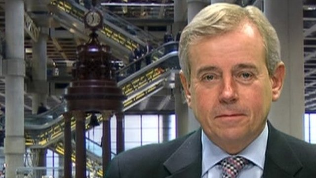Lloyd's of London Chief Executive Richard Ward