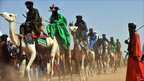 Tuaregs and Wodaabes take part in the Cure Salee in Ingall, northern Niger, on 25 September 2010