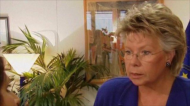 Viviane Reding, European Union Justice Commissioner
