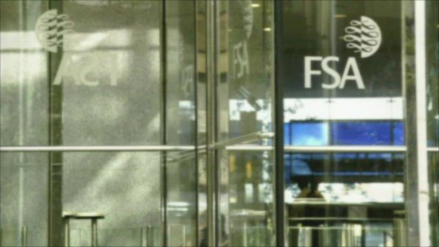 FSA logo on door
