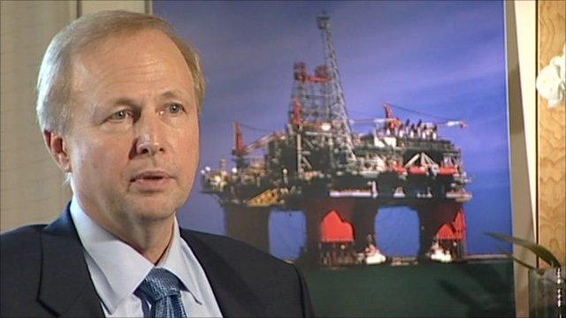 Bob Dudley, chief executive of BP
