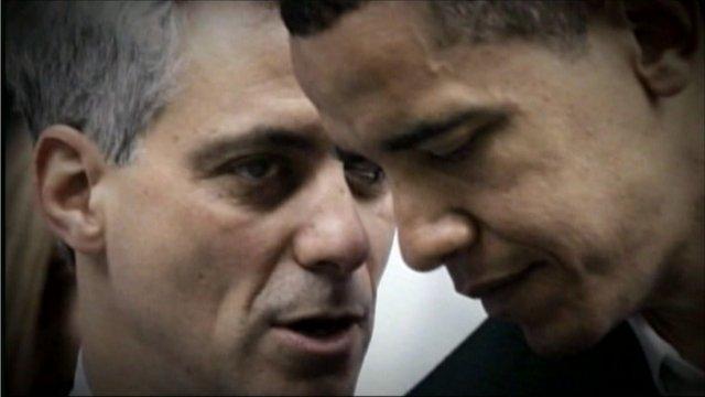 Rahm Emanuel and President Obama