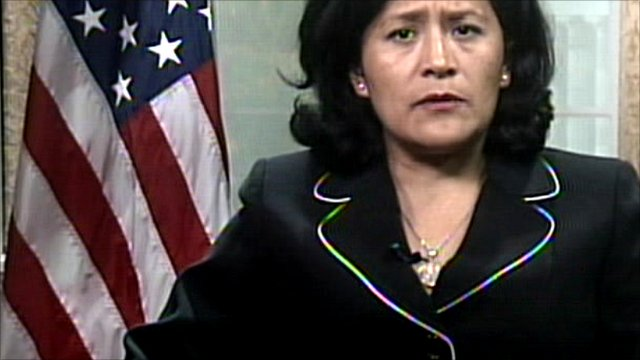 US State Department spokesperson Fabiola Rodriguez-Ciampoli