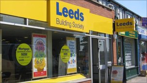 Crossgates branch of Leeds Building Society