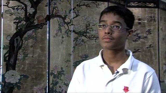 Nikhil Choudhary, multilingual student