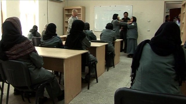 Policewomen in Afghanistan