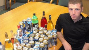Seized alcohol