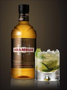 New Drambuie bottle