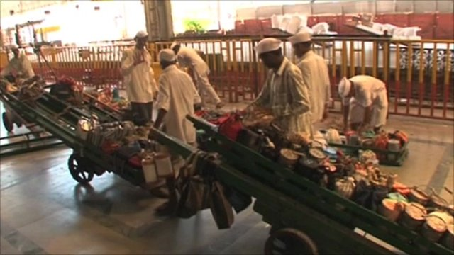 Dabbawallas getting ready to trade