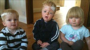Scott, Zach and Anya Sutton