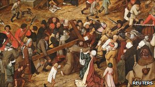 Pieter Brueghel the Younger's The Procession to Calvary