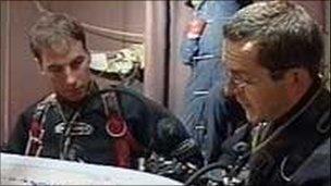 John Volanthen (left) and Rick Stanton