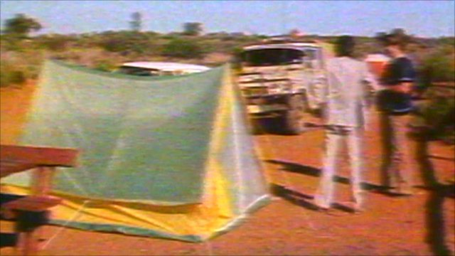 Tent from which Azaria Chamberlain disappeared