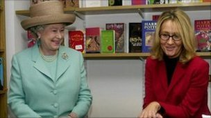 Queen and Jk Rowling