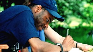 Stephen Wiltshire, who is autistic