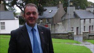 James Stockan, deputy leader, Orkney Islands Council