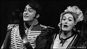 Luciano Pavarotti and Dame Joan Sutherland