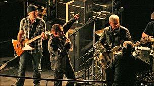 U2 at Broadcasting House