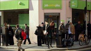 Job Centre Plus in London