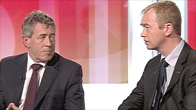 John Denham and Tim Farron