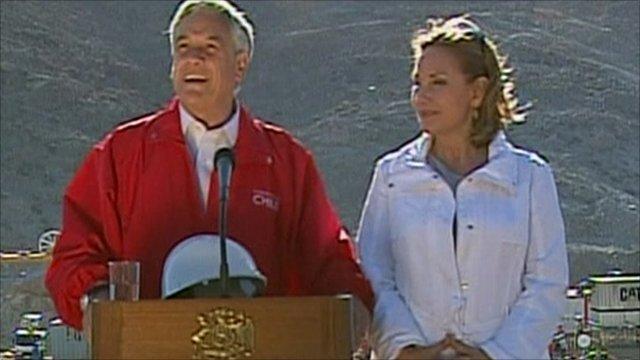 Chilean President Sebastian Pinera