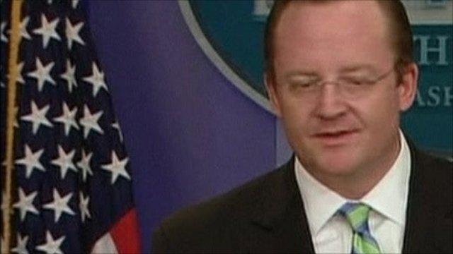 White House spokesman Robert Gibbs