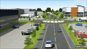 Plans for Burnley Bridge business park