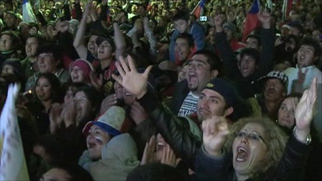 Chileans celebrate