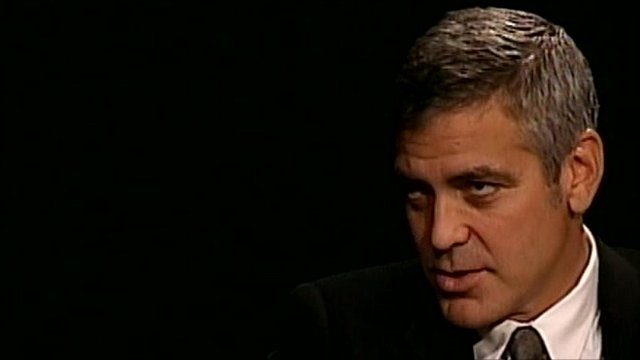 The actor George Clooney on Sudan
