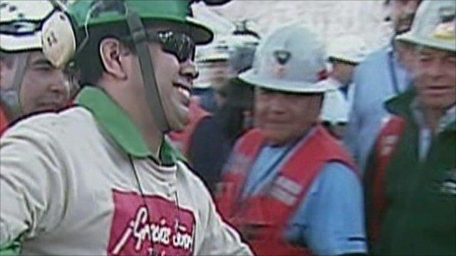 26th Chile miner, Claudio Acuna