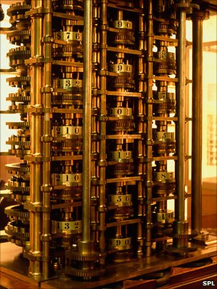 Babbage's original difference engine