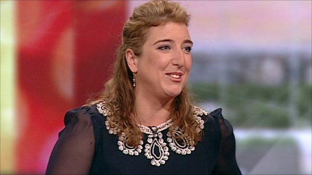 Apprentice contestant, Joy Stefanikis, on BBC Breakfast