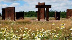 Steel Henge, Rotherham Nature Park