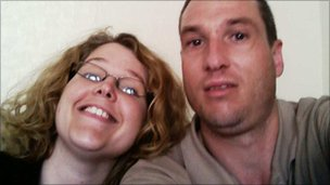 Matthew Lloyd and his sister Claire Holland