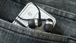 Portable music player, BBC