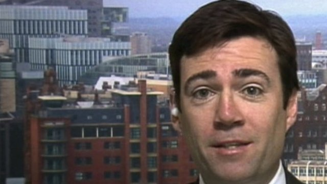Shadow Education Secretary Andy Burnham