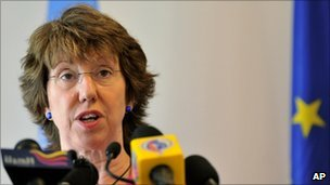 Catherine Ashton, September 2010