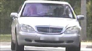 Photo of Chris Tarrant speeding