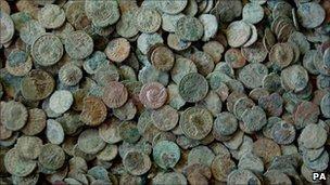 Frome Roman coin hoard