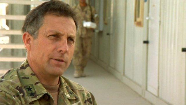 Maj Gen Nick Carter, Commander of British Forces in Southern Afghanistan