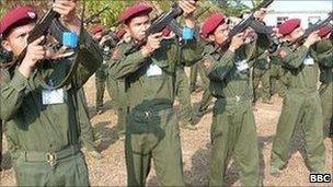 KIA cadets training